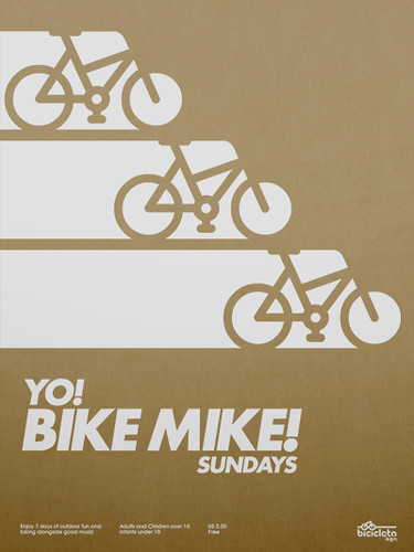 Yo! Bike Mike! Poster