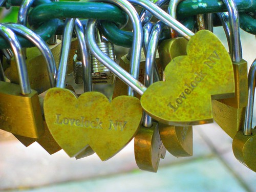 Love Locks from Lovelock, Nevada
