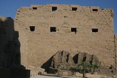 Karnak fortification wall
