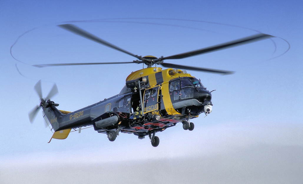 Bond Rescue 1 - Jigsaw Helicopter