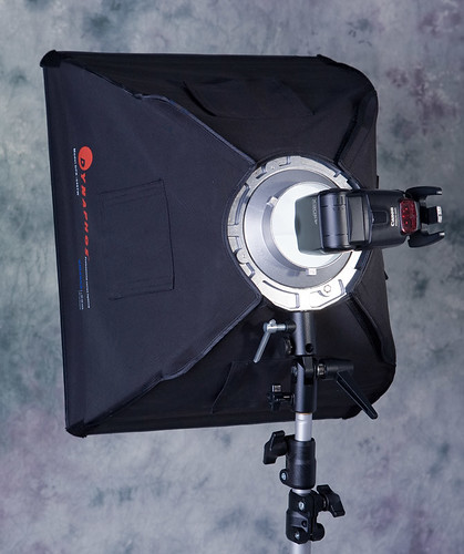 Softbox mount for speedlights II