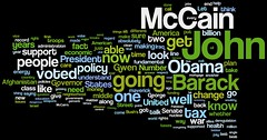 VP Debate Wordcloud - Joe Biden