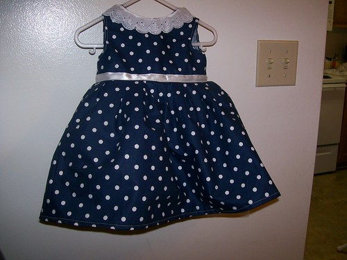 Baby Party Dress front