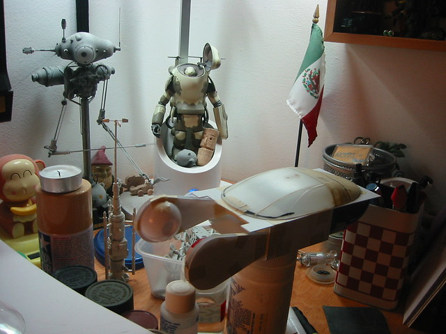 Blade Runner Police Spinner (1/24 scale model scratchbuild)