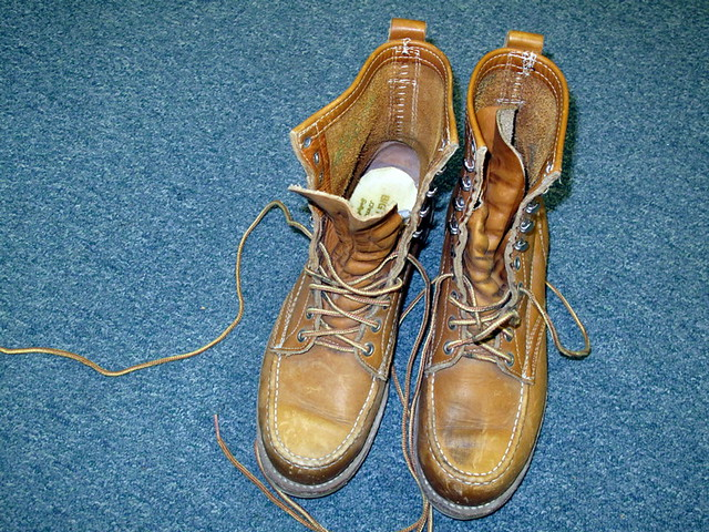 e2c2250fd82 Big Mac work boots by JC Penney   Goodwill. Springfield, Ore…   Flickr