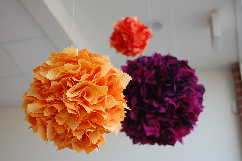 fabric balls at sew modern