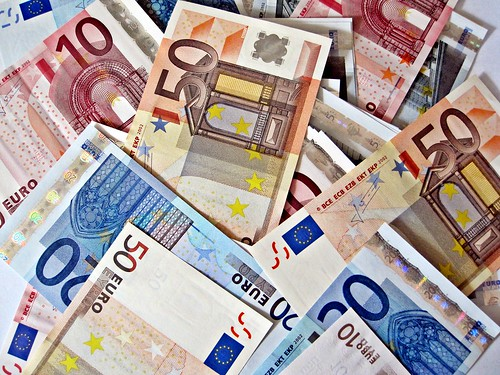 A pile of Euro notes. Photo: Images Money/Flickr