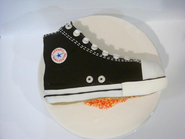 chuck taylor cake