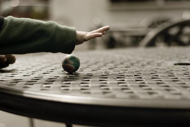 wherever the ball rolls