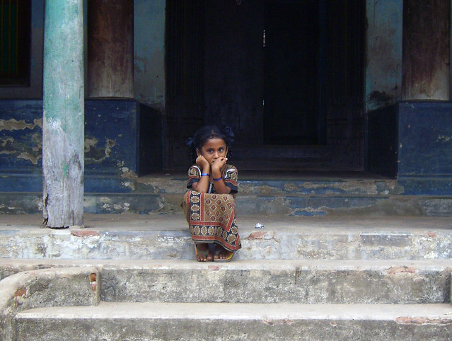 Tarangambadi India  city photo : symbol of hope | Tarangambadi India Mosque Street. A girl si ...