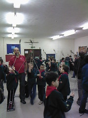 Circus Scene was at the Cub Scout meeting last Tuesday to help the Cubs have a night at the Circus