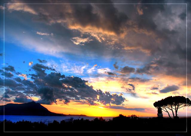 Sky Colors Clouds Sunset