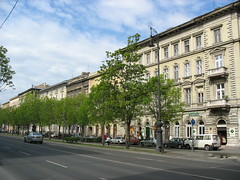 Now a world heritage site, this major street was one of the big projects in the nineteenth century planning of Pest.  It was heavily influenced by the recent redesign of Paris