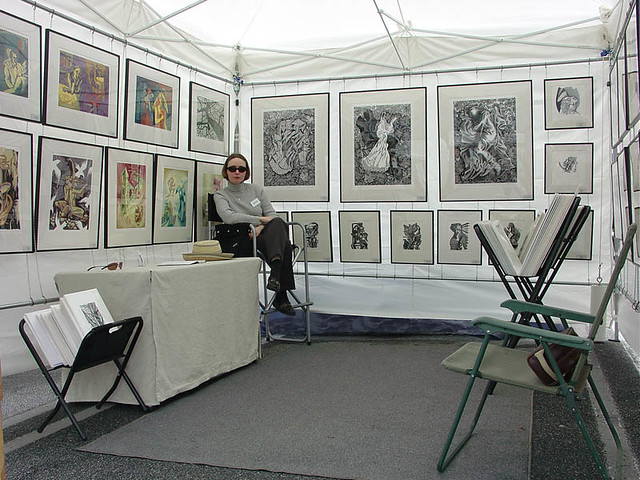 Art Festival Booths A Gallery On Flickr