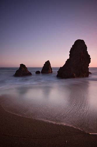 ocean sanfrancisco longexposure sunset beach evening coast sand pacific dusk marin explore shore bayarea nd400 rodeolagoon ndgrad nikond40 hitech06he