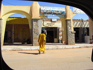 in  saharan town (algeria)