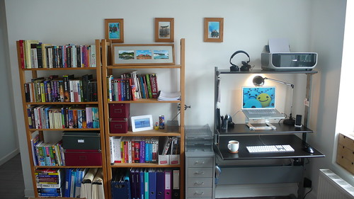 Desk and Shelves