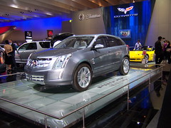 automobile, automotive exterior, exhibition, cadillac, vehicle, automotive design, auto show, mid-size car, land vehicle, luxury vehicle,