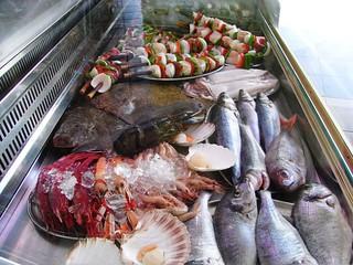 Image of Playa de Fuente Salud. sea fish beach comida playa seafood malaga benalmádena málaga torremolinos pescados mariscos benalmadena