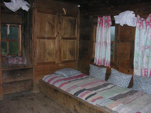 Fekete-tengeri faház belülről (tradicionális)