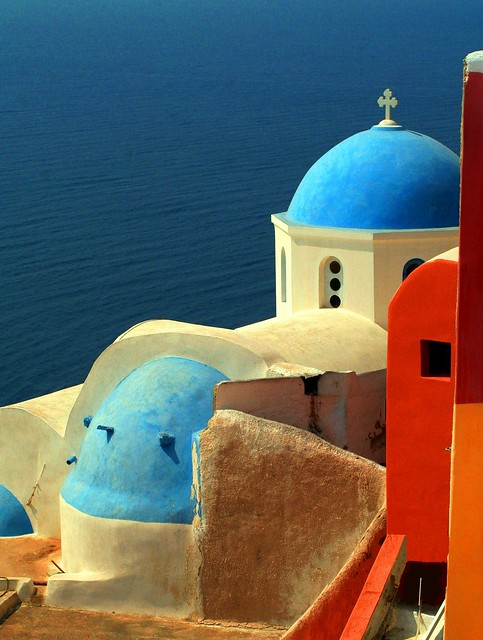Santorini - Oia - Blue Domes