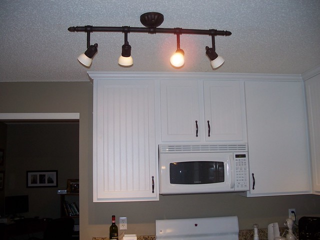 kitchen track lighting on new track lighting in kitchen flickr photo