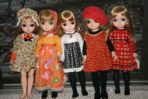 "All of My ""Love Me Linda"" Dolls"