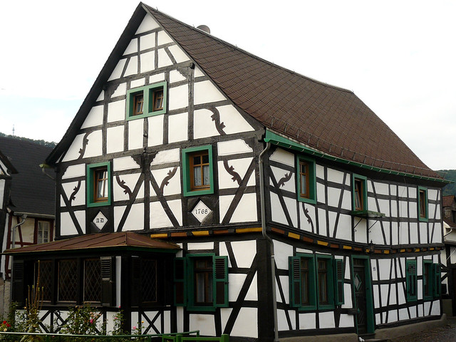 half timbered house in filsen germany a photo on flickriver. Black Bedroom Furniture Sets. Home Design Ideas