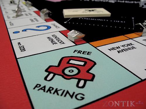 Free Parking Monopoly Mcdonalds Monopoly Free Parking Spot