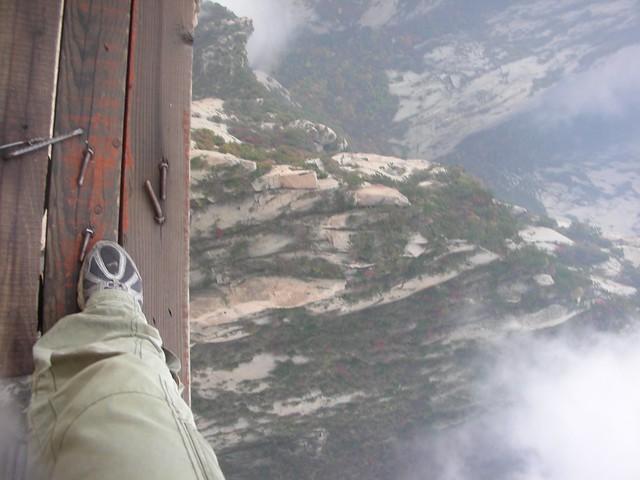 Hua Shan Plank Walk 33