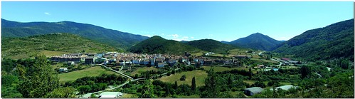 panorama españa town spain huesca pueblo valle panoramic valley pirineo aragón pyrenées ansó multiplylayers theperfectphotographer multiplicarcapas flickrlovers