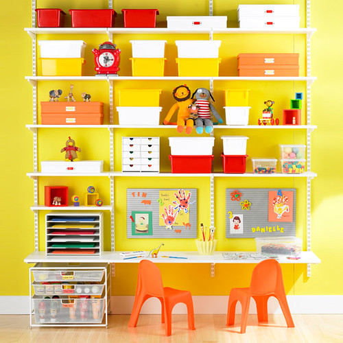 Elfa Shelving Kids Room