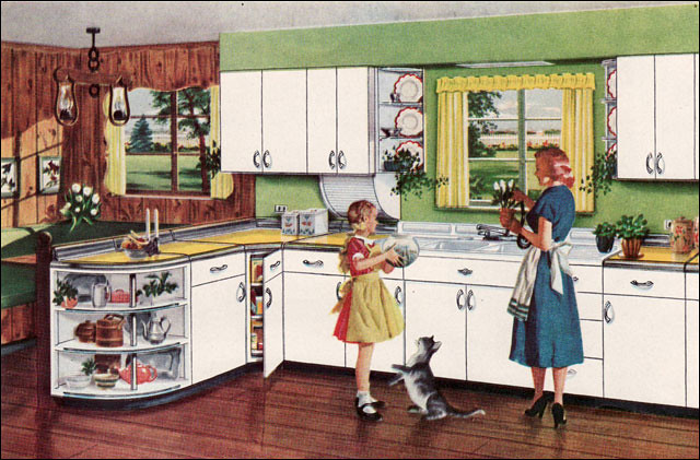 1950 Kitchen A Gallery On Flickr