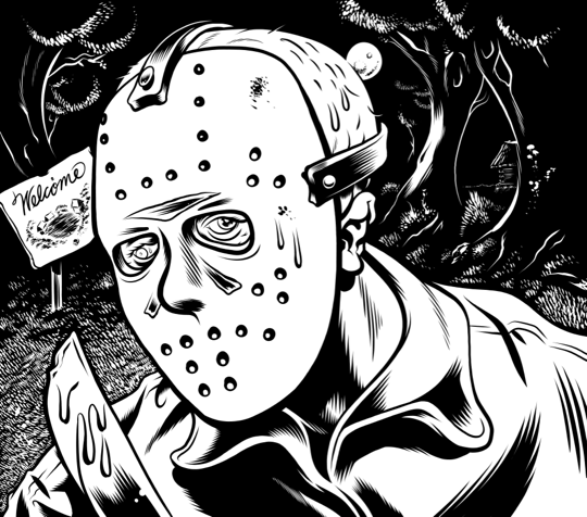 freddy vs jason coloring pages - free coloring pages of jason friday the 13th