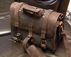 Saddleback Leather briefcase