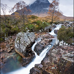 Buachaille Etive Mor & Waterfall