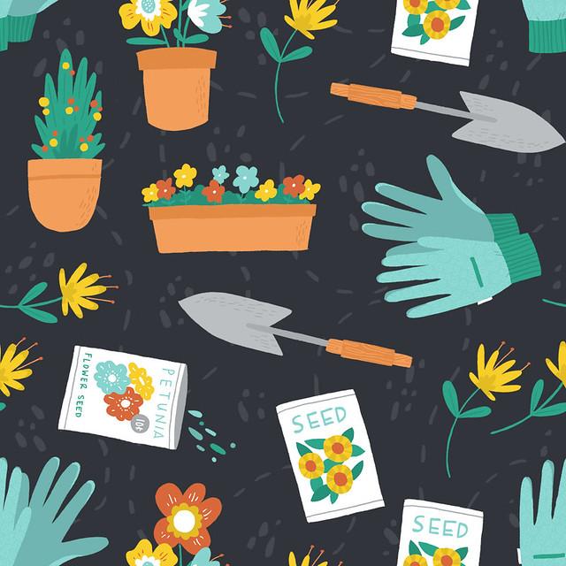 Daily Pattern - Garden