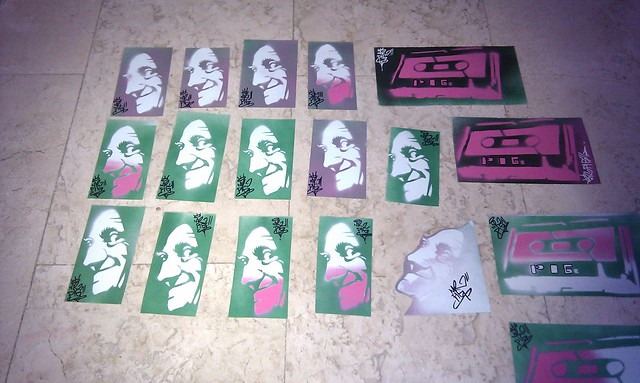 New stickers stencil vol.2