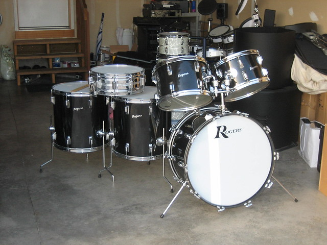 For Sale 1972 Rogers 6 Piece Drum Set Flickr Photo