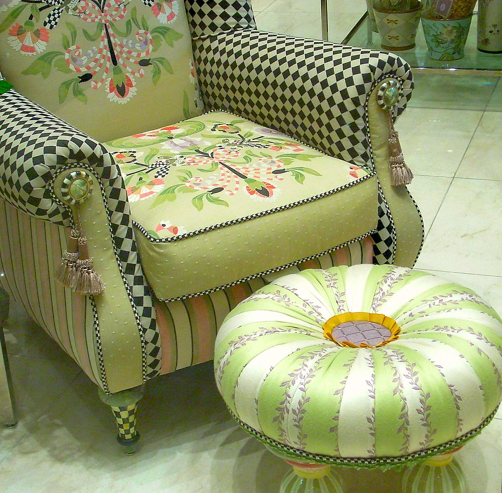 Easy Chair and Footstool