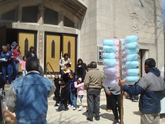 Queen of Angels Chicago After 12:30 Mass