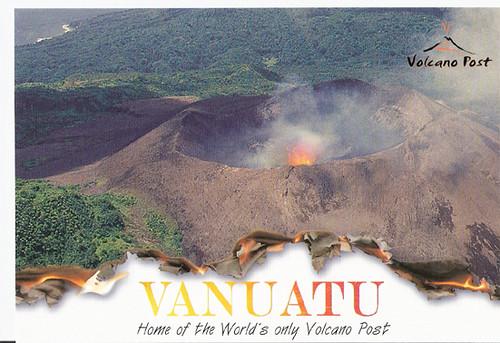 Vanuatu-Volcano Post 1