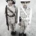 Small photo of Old Policeman & Fireman Uniform