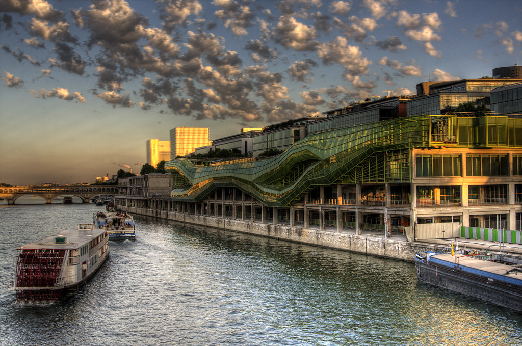 Cit de la mode et du design docks en seine paris architecture revived - Architect binnen klein gebied paris ...