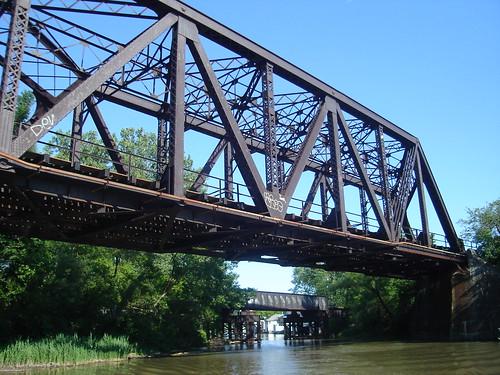 Railroad Bridge over Ellicott Creek