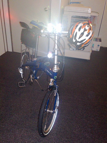 Dahon MU P24 front lights | by mr brown