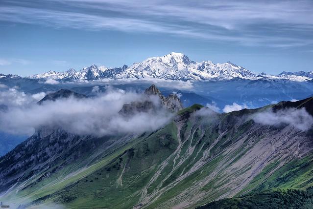Le Mont Blanc - 無料写真検索fotoq