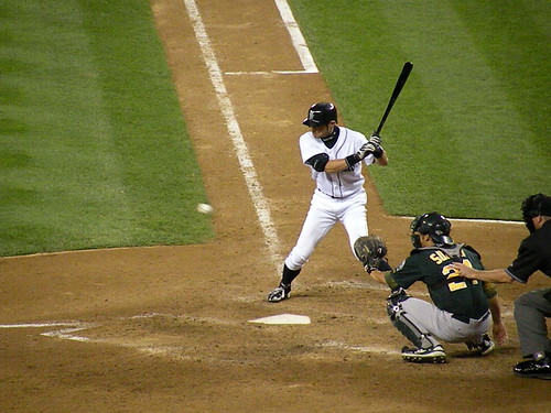 #51 Ichiro イチロー looking at a pitch