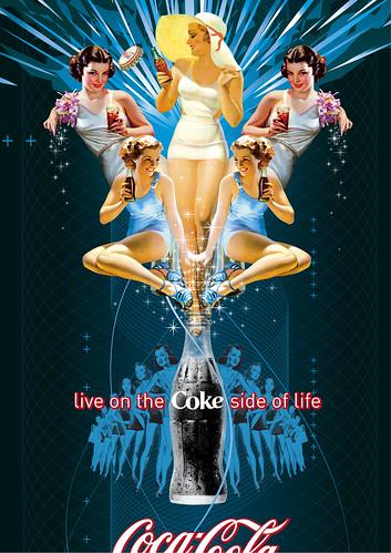 2803765205 4bfab502e3 Coke Side of Life: Coca Cola Art Remix
