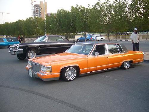 Orange Cadillac   Flickr - Photo Sharing!
